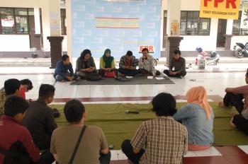 Suasana saat diskusi. Foto: Tefur Nur Rohman