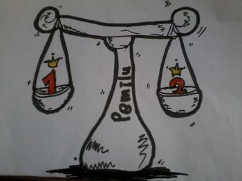 Timbangan Pemilu karya: Intan S. D.