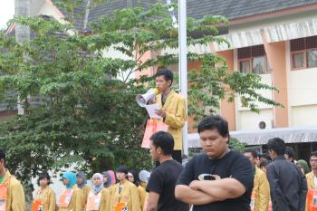Suasana Ospek dokumentasi PDD Ospek Ilmu Budaya 2012
