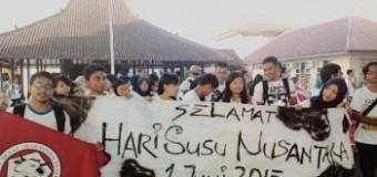 Mahasiswa dalam Peringatan Hari Tanpa Tembakau dan Hari Susu Nusantara