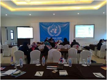 Acara Soedirman MUN (Simulasi Sidang PBB). Foto: Reza Adum Kurnia Praja