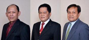 Dari kiri ke kanan: Prof. Suwarto, Prof. Mas Yedi Sumaryadi, dan Agus Nuryanto. Foto: Diambil dari laman unsoed.ac.id .